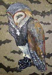 First n Last n Owlways aceo by askoi