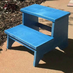 Vintage Step Stool by iheartcutestuffs