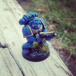 Space Marine by iheartcutestuffs