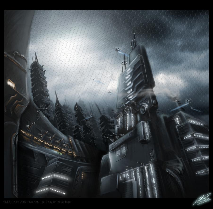 ::mech tower 17:: by sangheili117