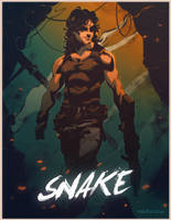Snake Plissken Colored by Mikuloctopus