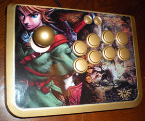Legend of Zelda Arcade Stick by K1TSCHY