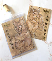 Aviator Badges [NATURAMA-Commission OPEN] by A-shanti