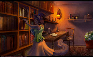 Witchroom by Silverbloodwolf98