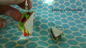 BLT Earrings by BeppasCreations