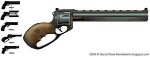 Weapon Design Revolver by dmanrose
