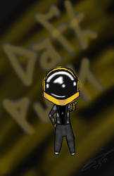 Daft Punk Chibi by XSpeak2MeX