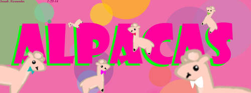 Alpaca Cover Photo [Facebook detentions] by XSpeak2MeX