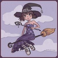 Purple Magic by asa-bryndis