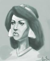 Jasmine portait by asa-bryndis