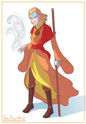 Tota the Airbender by asa-bryndis
