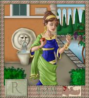 Alphabet series: Rome by asa-bryndis