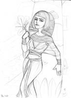 Egypt sketch by asa-bryndis