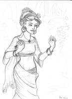 Roman sketch by asa-bryndis