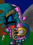 Pocket Monster Monster Hunter by Glen-i