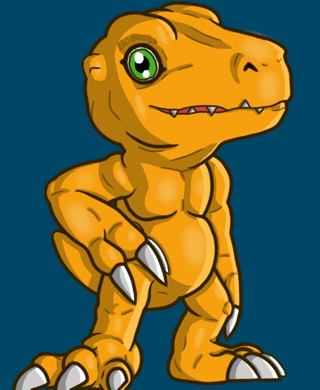 Agumon by Glen-i