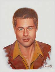 Brad Pitt by LorenzoDiMauro
