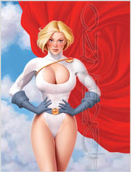 Power Girl by LorenzoDiMauro