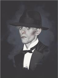 Addio Mr.Bowie by LorenzoDiMauro