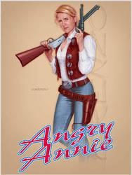 Angry Annie by LorenzoDiMauro