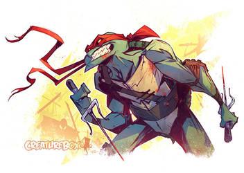 Turtle Power by CreatureBox