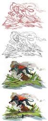 Nightcrawler Process by CreatureBox