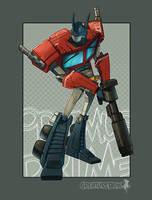 Optimus Prime by CreatureBox