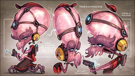 Terachnoids by CreatureBox