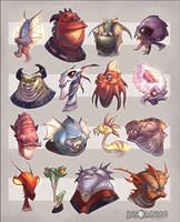 Alien Mob by CreatureBox
