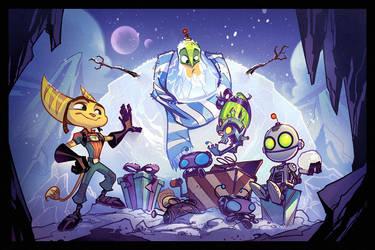 Happy Holidays! by CreatureBox