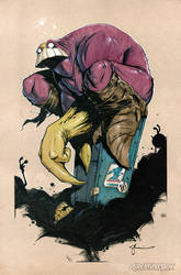 The Maxx: Heroescon AA 1028 / 1029 by CreatureBox