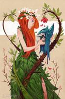 Flower Child: HeroesCon AA-516 by CreatureBox