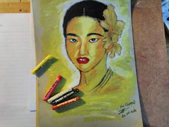 Fin Golden Woman by ZINNYFILL