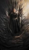 Iron Throne by Allmanette