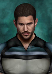 Chris Redfield by FabyLP