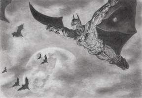 Batman: Arkham City by xgeua