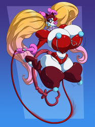 Clownsona 5- Panther by SpiralingStaircase