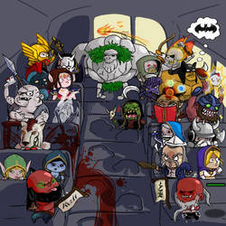 the unofficial DotA bus ride by Redisni