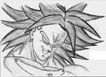 Broly by VegettoJr