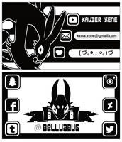 Business card by BelluaBug