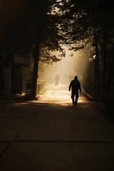 Walking Alone by joKERThePoLLy