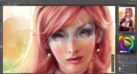 Steampunk Girl Progress by Beth-Gilbert