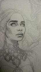 Daenerys WIP by alexkonat