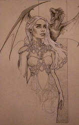 Daenerys by alexkonat