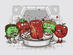 Alien Apple by bennyd302