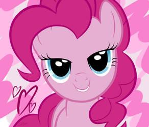 Pinkie Pie Love Face Vector by DashBoom