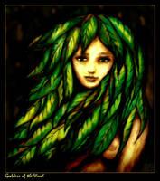GK Goddess of the Wood by GabrielKain
