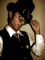 Steampunk Guy by Chaccal