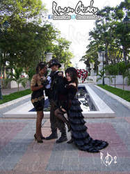 Trio Steampunk by Chaccal