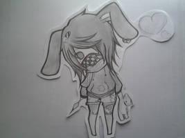 Bunny Chibi by romaroo96